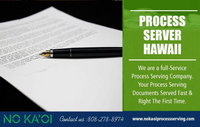 Process Server in Hawaii