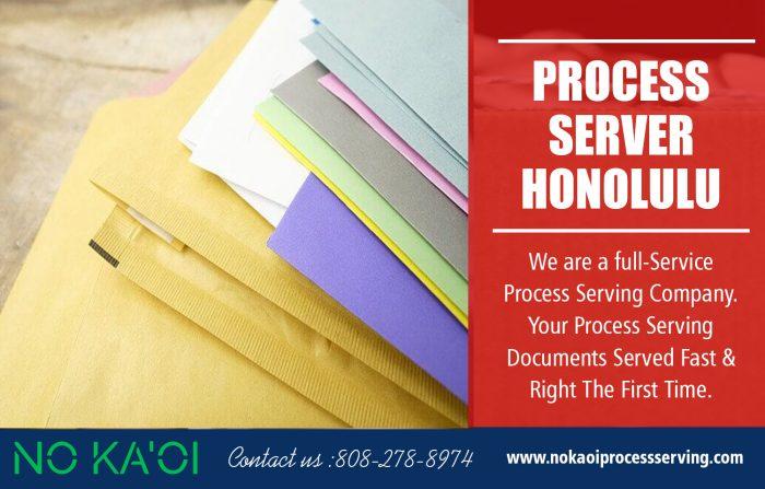 Process Server in Honolulu