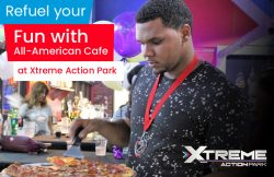 Refuel your Fun with All-American Café at Xtreme Action Park