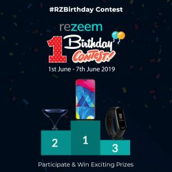 Rezeem 1st Birthday Contest Alert