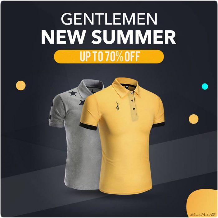 Jollychic KSA Gentlemen Summer Offer
