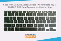 Shop 100% Genuine Apple Macbook Air Keyboard Key 13″ Mid 2017-2018 from Replacement Laptop ...