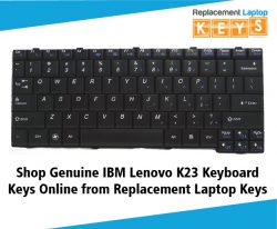 Shop Genuine IBM Lenovo K23 Keyboard Keys Online from Replacement Laptop Keys