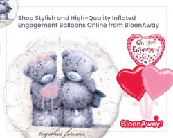 Shop Stylish and High-Quality Inflated Engagement Balloons Online from BloonAway