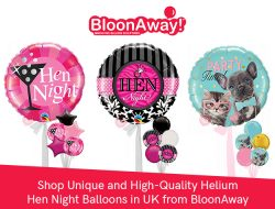 Shop Unique and High-Quality Helium Hen Night Balloons in UK from BloonAway