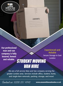 Student moving van hire