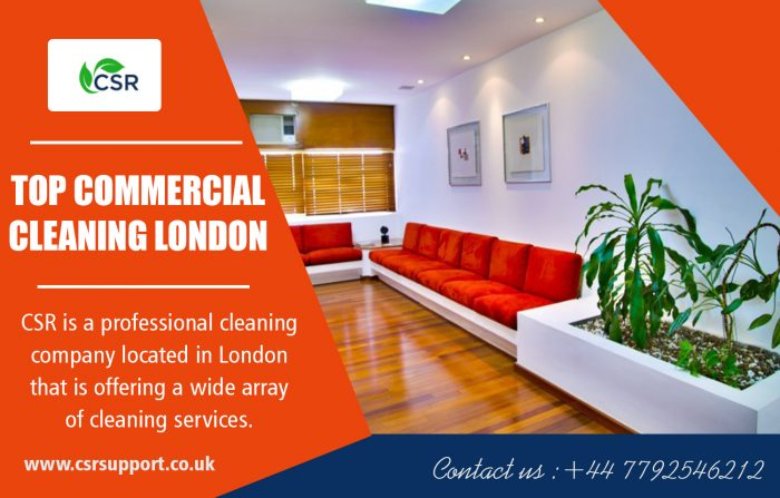 Top Commercial Cleaning London