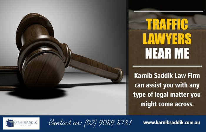 Traffic Lawyers near me | Call-0290898781 | karnibsaddik.com.au
