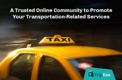 TripKen Ads – A Trusted Online Community to Promote Your Transportation-Related Services