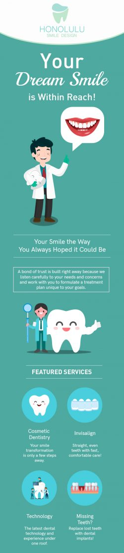 Visit Honolulu Smile Design for Comfortable Dental Care for the Entire Family