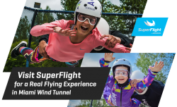 Visit SuperFlight for a Real Flying Experience in Miami Wind Tunnel