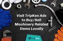 Visit TripKen Ads to Buy/Sell Machinery Related Items Locally
