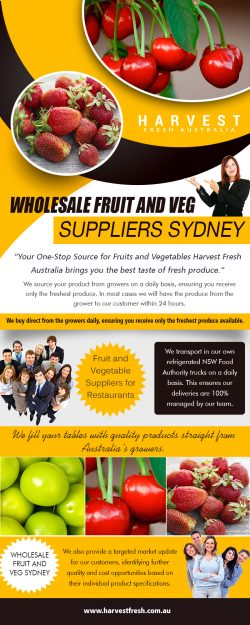 Wholesale Fruit And Veg | Call – 02 9746 6503 | harvestfresh.com.au