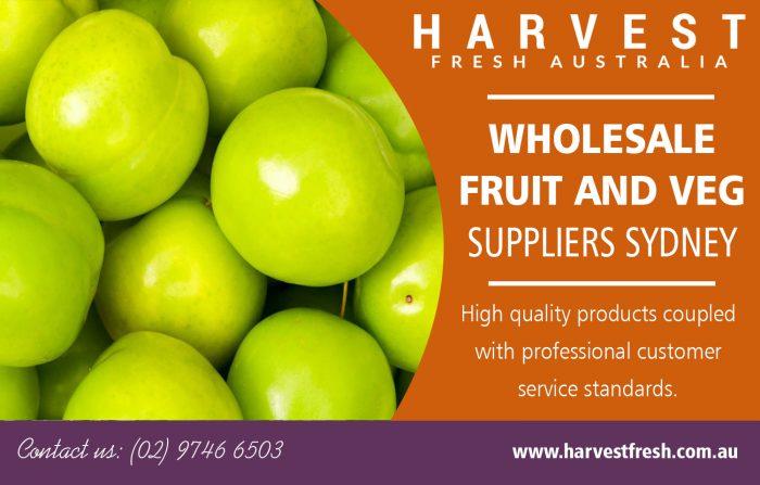 Wholesale Fruit and Veg Suppliers Sydney | Call – 02 9746 6503 | harvestfresh.com.au