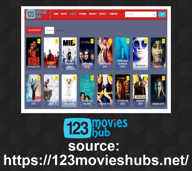 Get all the varieties of movies in the movies section