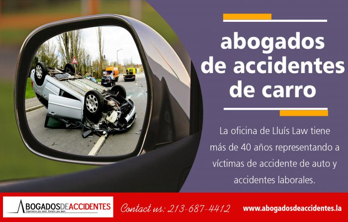 Abogados De Accidentes De Carro | 213.687.4412 | abogadosdeaccidentes.la