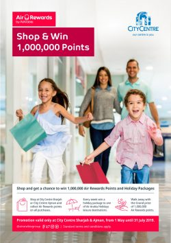Air Arabia Reward Points Offer