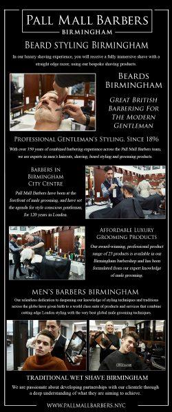 Beard Styling Birmingham | Call 01217941693 | pallmallbarbersbirmingham.com