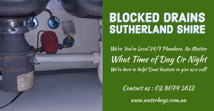 Blocked Drains Sutherland Shire