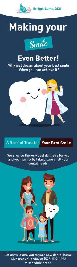 Bridget Burris, DDS – A Trusted Family Dentist in Las Cruces, NM