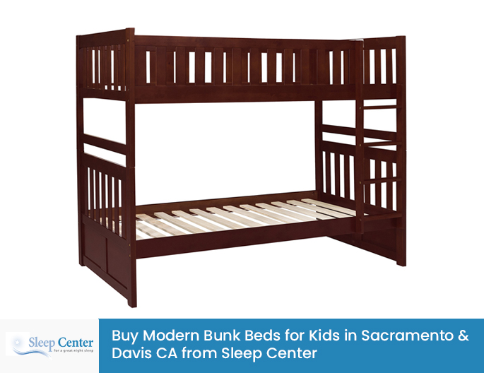 Buy Modern Bunk Beds for Kids in Sacramento & Davis CA from Sleep Center