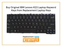 Buy Original IBM Lenovo K23 Laptop Keyword Keys from Replacement Laptop Keys