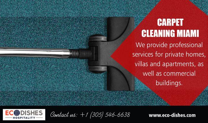 Carpet Cleaning FL Miami   3055466638   eco-dishes.com