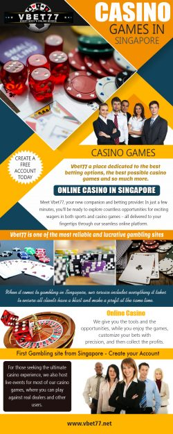 Casino Games in Singapore