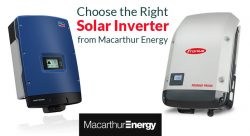 Choose the Right Solar Inverter from Macarthur Energy