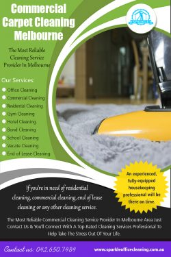 Commercial Carpet Cleaning Melbourne