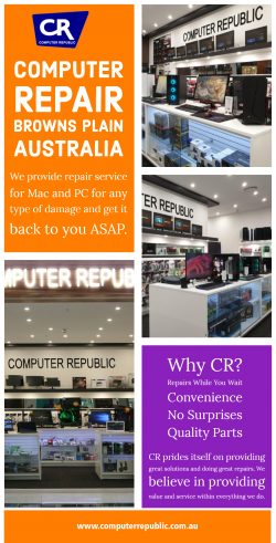 Computer Repair Browns Plain Australia | Call- 0734725271 | computerrepublic.com.au