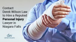 Contact Derek Wilson Law to Hire a Reputed Personal Injury Lawyer in Niagara Falls