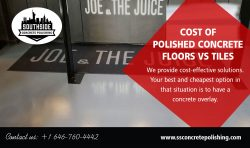 Cost of Polished Concrete Floors vs Tiles