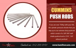 Cummins Push Rods | Call – 512-355-9101 | hamiltoncams.com