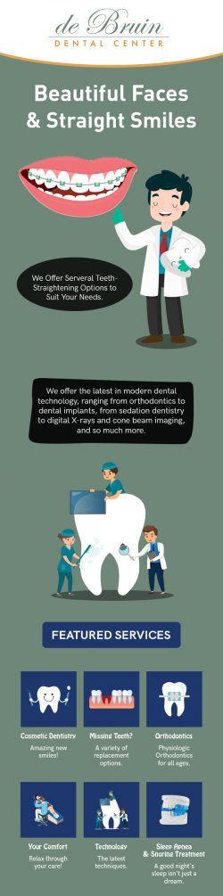 Contact de Bruin Dental Center for Beautiful & Straight Smile in Reno, NV