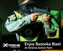 Enjoy Bazooka Blast at Xtreme Action Park