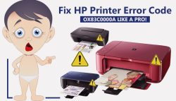Fix HP Printer Error Code Ox83c0000a Like a Pro!