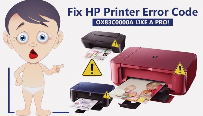 Fix HP Printer Error Code Ox83c0000a Like a Pro! - Social
