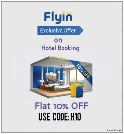 Flyin Hotel Booking Promo Code