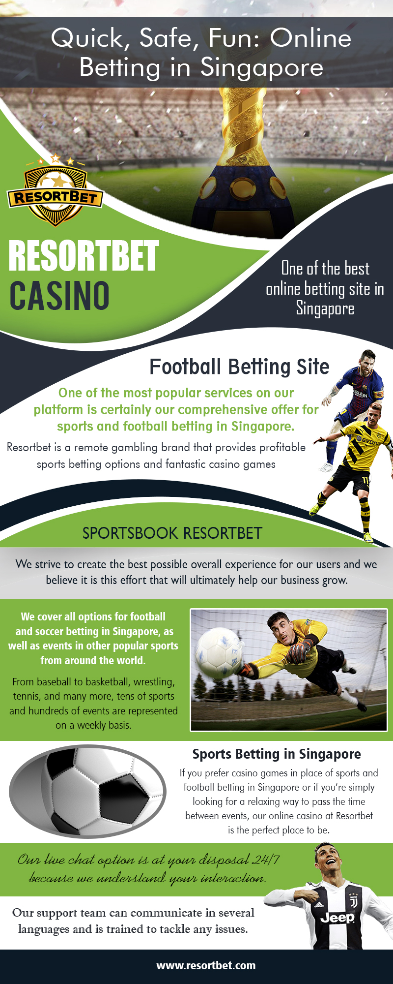Football Betting | Call – 65 8651 6850 | resortbet.com