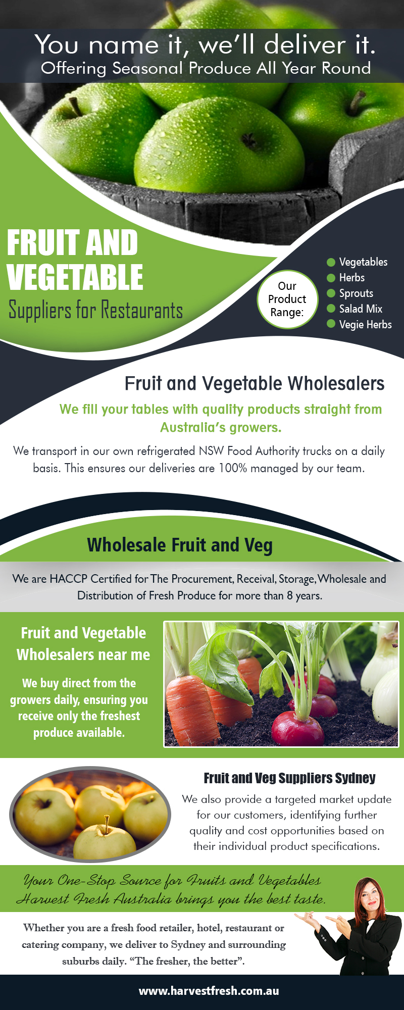 Fruit and Vegetable Suppliers for Restaurants AU
