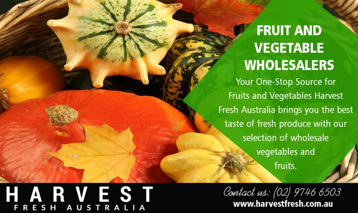 Fruit And Vegetable Wholesalers