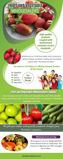 Fruit and Vegetable Wholesalers AU
