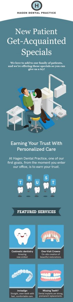 Get Personalized Dental Care from Hagen Dental Practice