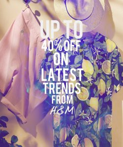 H&M Fashion Sale