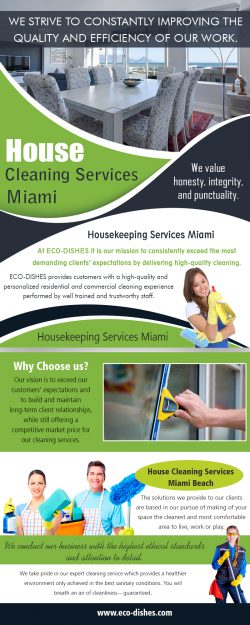 House Cleaning Services Miami | 3055466638 | eco-dishes.com