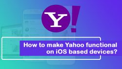 How to make Yahoo functional on iOS-based devices?