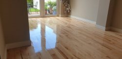 Floor Sanding & Clear Varnish