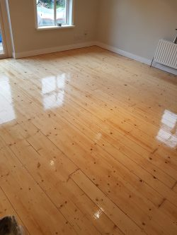 Pine Floor Sanding & REfinishing