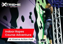 Indoor Ropes Course Adventure at Xtreme Action Park